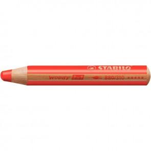 Crayon de couleur Woody vermillon