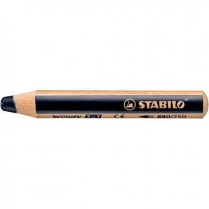 Crayon de couleur Woody noir