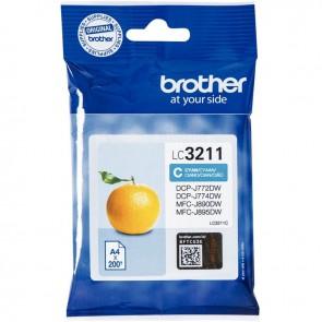 Cartouche encre à la marque Brother LC3211C cyan