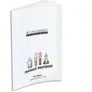 Cahier de TP 24 x 32 en 96p couverture Polypropylène INCOLORE Hamelin