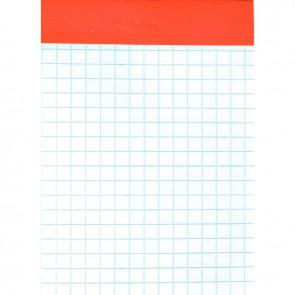Bloc de bureau 100 feuilles 60 g, 5x5, sans couverture, 7,4x10,5 cm