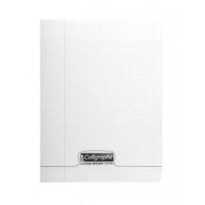 Cahier 24x32 cm 140 pages en 90g. couverture Polypro incolore Clairefontaine (Default)