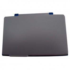 Tampon réencrable bleu, format : 8,5 x 12 cm