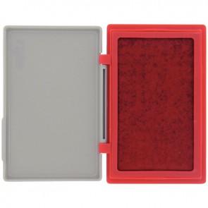 Tampon réencrable, format 8,5x12 cm rouge