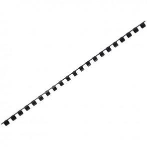 boîte de 100 anneaux à relier/peignes à relier diamètre 8 mm noir