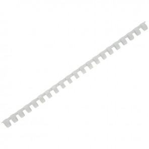 Boîte de 100 anneaux/reliures plastique Ø 12 mm blanc