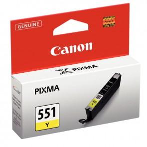 Cartouche jet d'encre à la marque Canon CLI-551 jaune