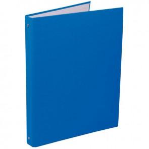 Classeur plastifié 4 anneaux dos 20 mm coloris bleu