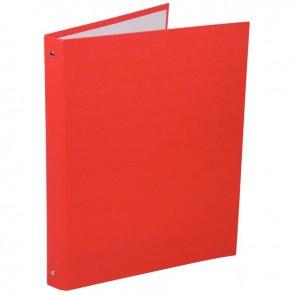 Classeur plastifié 4 anneaux dos 20 mm coloris rouge