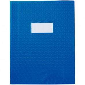 Paquet de 30 protège-cahiers grain 10/100ème format 17 x 22 cm coloris bleu foncé
