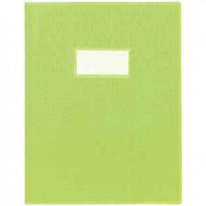Paquet de 30 protège-cahiers grain 10/100ème format 17 x 22 cm coloris vert clair