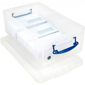Boite de rangement de 12 litres transparent