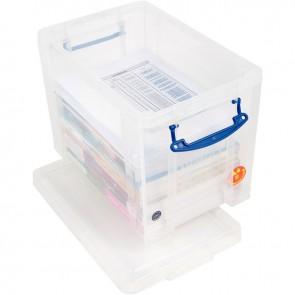 Boite de rangement de 19 litres transparent