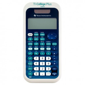 Machine à calculer scientifique Texas Instrument TI-Collège Plus Solaire