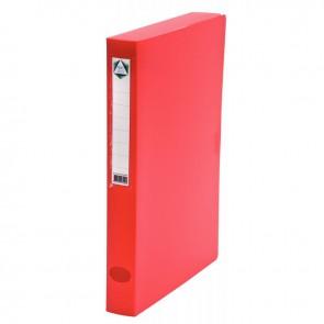 Boite de classement en polypropylène, dos 40 mm, coloris rouge