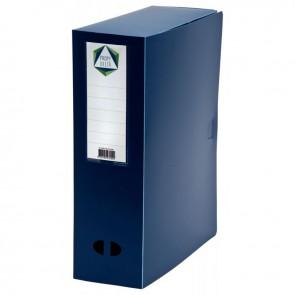 Boite de classement en polypropylène, dos 100 mm, coloris bleu