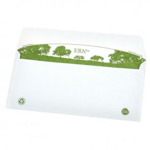 Boite de 500 enveloppes blanches recyclées DL 110x220 80 g/m² bande de protection