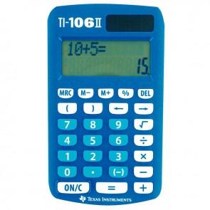 Machine à calculer de poche scolaire Texas TI-106II