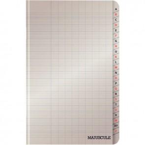 Répertoire piqué 96 pages, 11x17 cm, seyès 90 g
