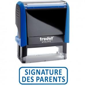 "X-Print ""Signature des parents"""