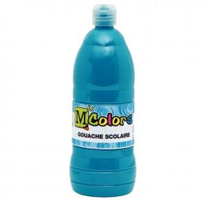 Flacon de 1 Litre de gouache liquide  turquoise