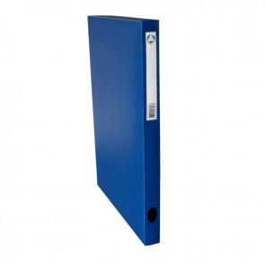 Boite de classement en polypropylène, dos 25 mm, coloris bleu