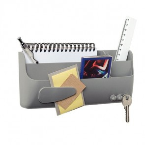 Support multi-usages magnétique gris