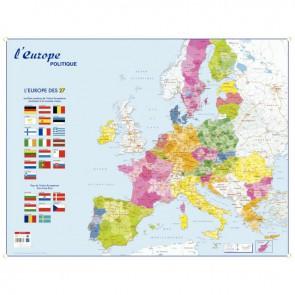 Carte souple l'Europe & le Monde Politique