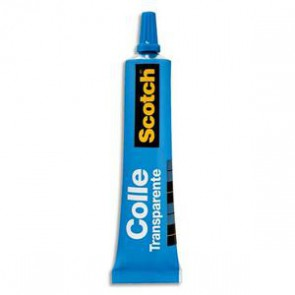 Tube 30 ml Colle Scotch en gel translucide