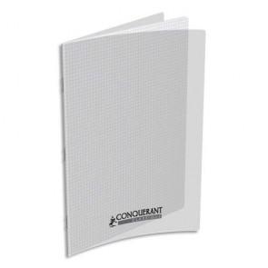 cahier A4 conquérant couverture polypro incolore