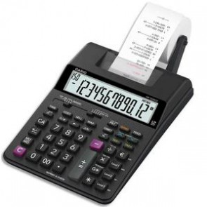 CASIO Calculatrice imprimante portable bureau 12 chiffres HR-150 RCE