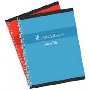 Cahier 17 x 22 cm. spirales 148 pages Oxford