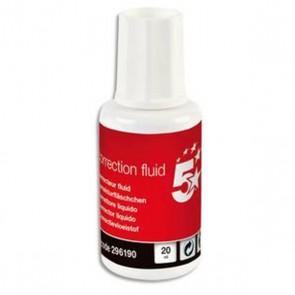 Correcteur  20 ml pinceau fluide car biseauté ; précision plus grande dans la répartition du produit.