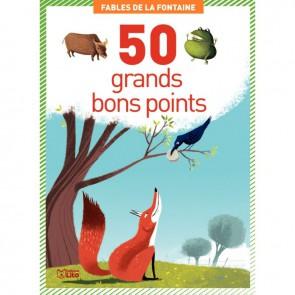 Boite de 50 grandes images Fables de la Fontaine