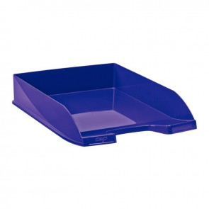 Corbeille courrier ecoline violet