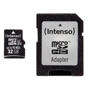 Carte mémoire Intenso micro SD UHS I Professionnel 32 GO