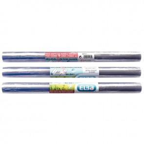 Rouleau en plastique incolore, qualité supérieure PVC 40 cm x 5,5 m, épaisseur : 8/100ème