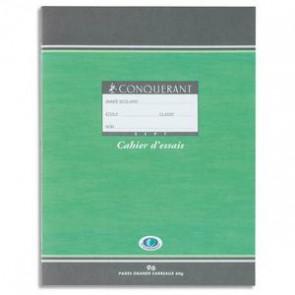 CONQUERANT 7 Cahier de brouillon 48 pages 56g Seyès 17x22 cm. Couverture carte 90g /tables multiplication (Default)