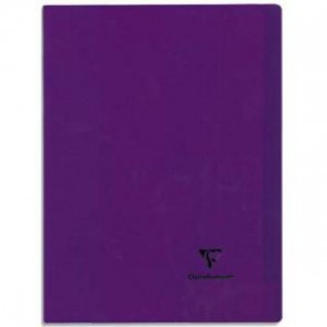 Cahier KOVERBOOK piqûre 96 pages Seyès 24x32. Couverture polypro (Default)