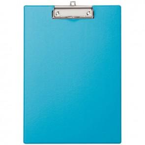 Plaque porte bloc en plastique A4 + bleu