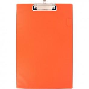 Plaque porte bloc en plastique A4+ orange