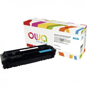 Cartouche laser compatible à la marque HP CF401X cyan