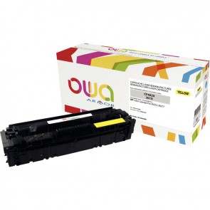 Cartouche laser compatible à la marque HP CF402X jaune