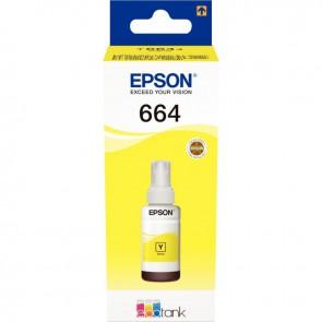 Flacon encre à la marque Epson T664440 jaune