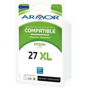 Cartouche d'encre compatible à la marque Epson T2712 cyan haute capacité