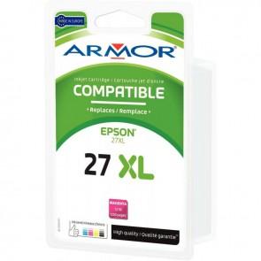 Cartouche d'encre compatible à la marque Epson T2713 magenta haute capacité