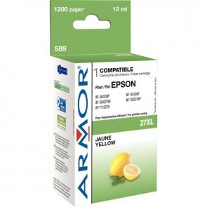 Cartouche d'encre compatible à la marque Epson T2714 jaune haute capacité