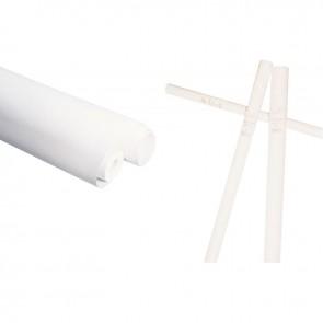 Rouleau de papier kraft blanc 65g 3 x 0,70 m
