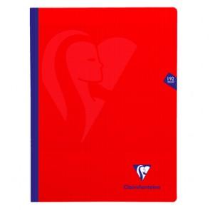 Cahier polypro 24x32cm rouge 192p séyès