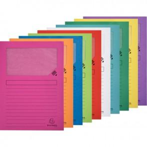 Paquet de 10 pochettes coin papier FOREVER 120g, coloris assortis